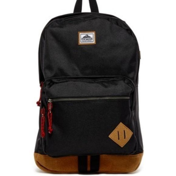 87de61d048 Steve Madden Solid Classic Sports Backpack. M_5be623ddaa5719e16edc00f8